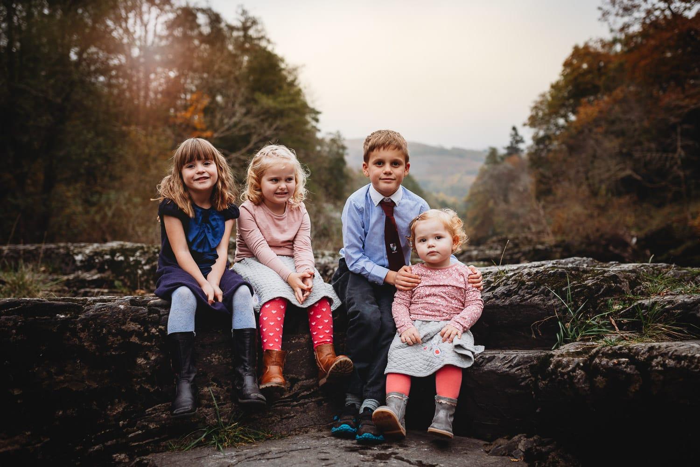 Llangollen Family Photographer - Babs Boardwell Wedding