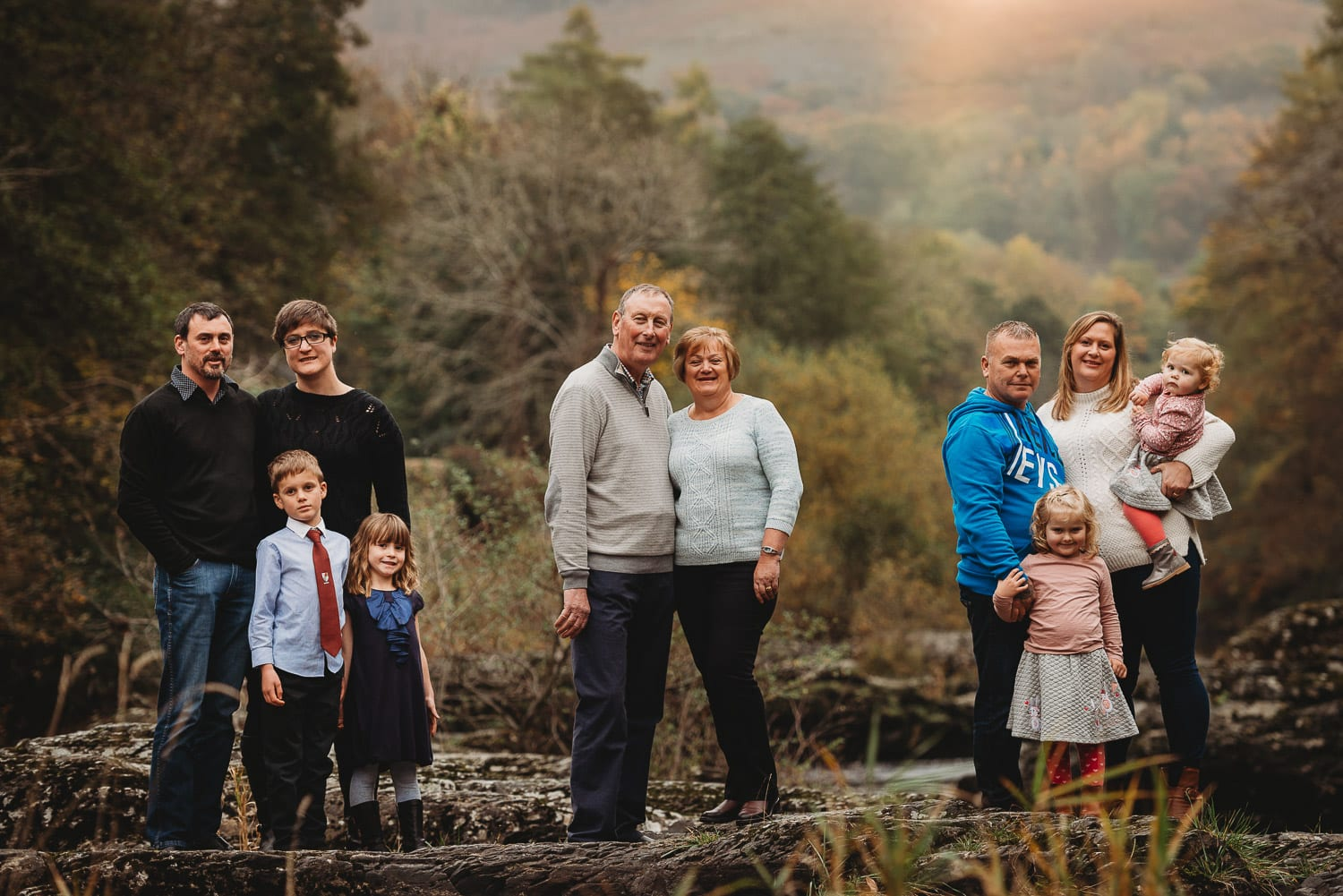 Llangollen Family Photographer - Babs Boardwell Wedding