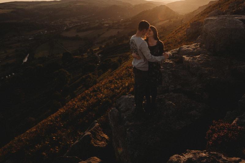 Llangollen Sunset Pre-Wedding Shoot