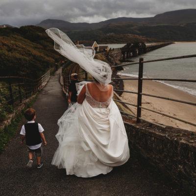 North Wales Wedding Photographer at Bae Abermaw Barmouth