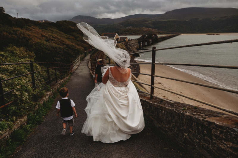 North Wales Wedding Photographer at Bae Abermaw Barmouth