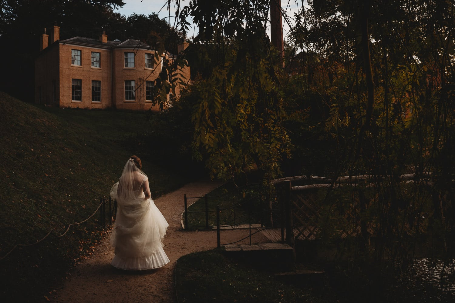 North Wales Wedding Photographer at Quarry Bank Mill